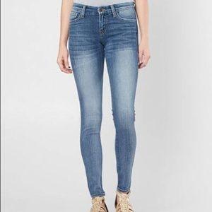 Flying Monkey Low Rise Medium Wash Skinny Jeans